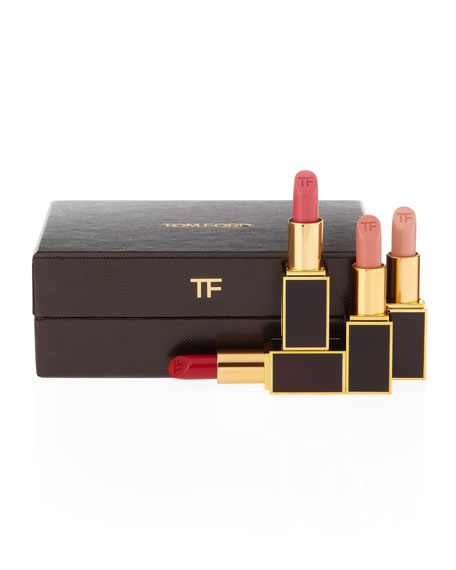 TOM FORD 4 Piece Lip Color Gift Set