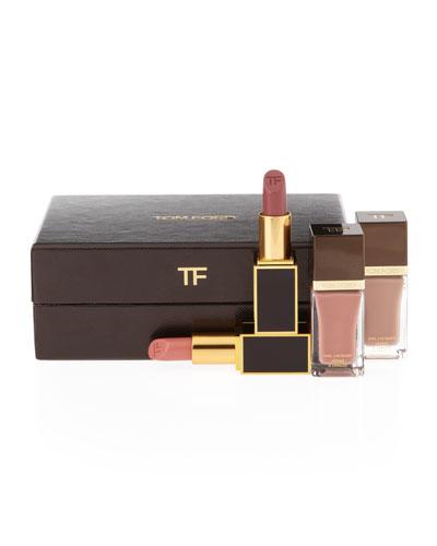 Tom Ford Beauty 4 Piece Lip & Nail Gift Box