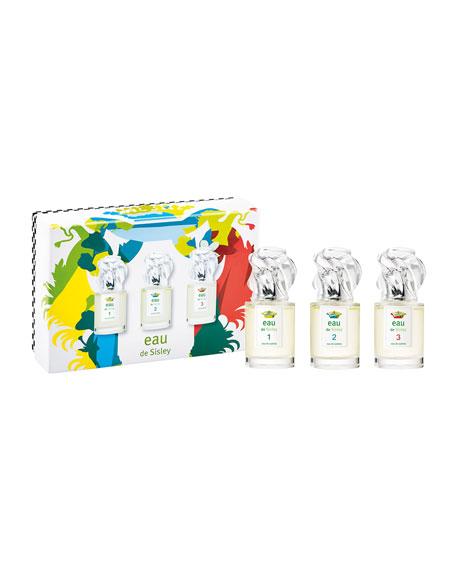 Limited Edition Eau de Sisley 1 2 3 Gift Set