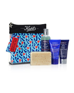Kiehl's Since 1851 Exclusive MEN'S Total Refuel Set