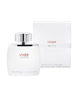 Lalique Lalique White Eau De Toilette Pour Homme, 2.5oz.