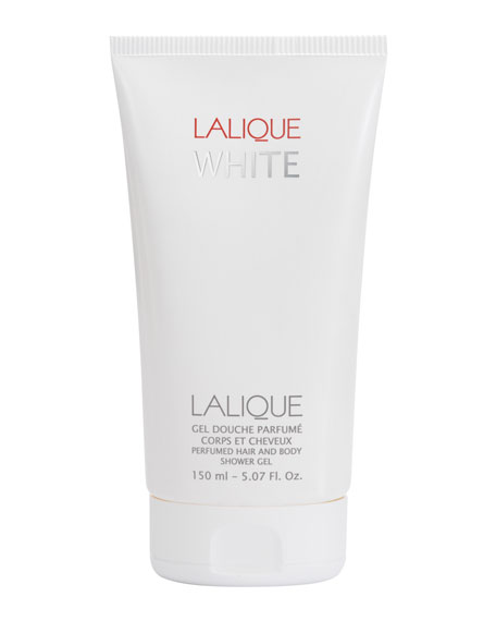 Lalique White Perfumed Hair/Body Shower Gel, 3.4 fl.oz.