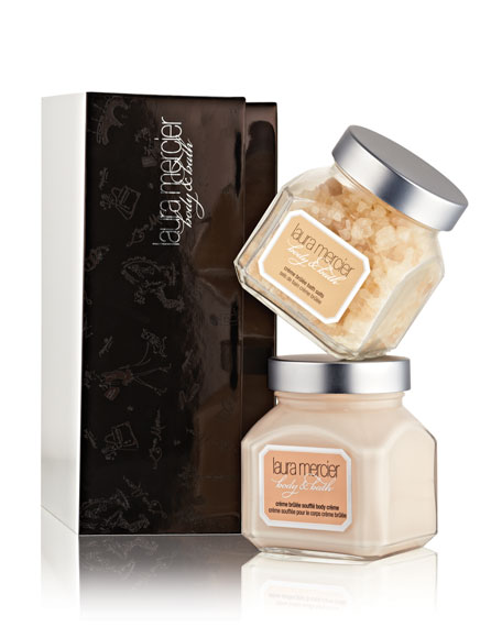 Limited Edition Body & Bath Duet, Creme Brulee