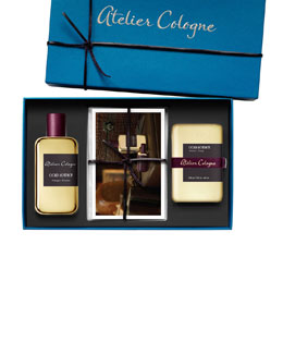 Atelier Cologne Exclusive Gold Leather Set