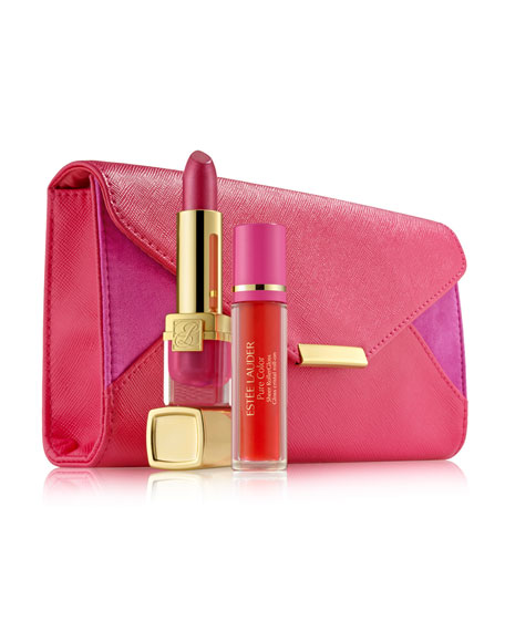Limited Edition Evelyn Lauder & Elizabeth Hurley Dream Lip Collection