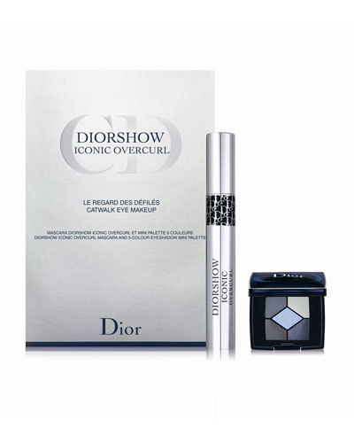 Dior Beauty DIORSHOW Iconic Overcurl & Mini 5 Couleurs Eyeshadow  Set