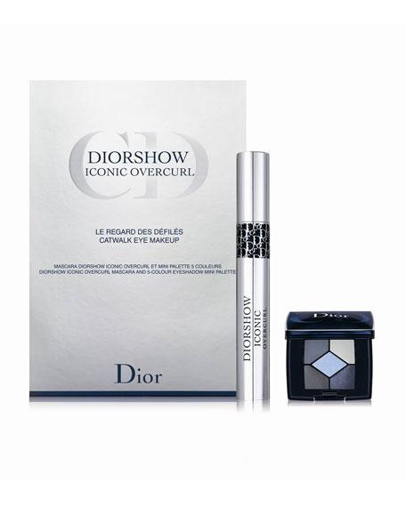 DIORSHOW Iconic Overcurl & Mini 5 Couleurs Eyeshadow  Set