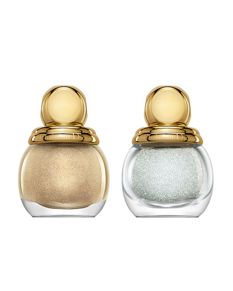 Holiday 2013 Golden Winter Diorific Vernis Jewel Manicure Duo