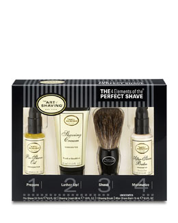 The Art of Shaving 4 Elements of the Perfect Shave Starter Kit, Unscented