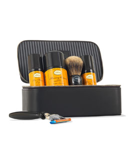 The Art of Shaving 4 Elements of the Perfect Shave Travel Kit, Lemon