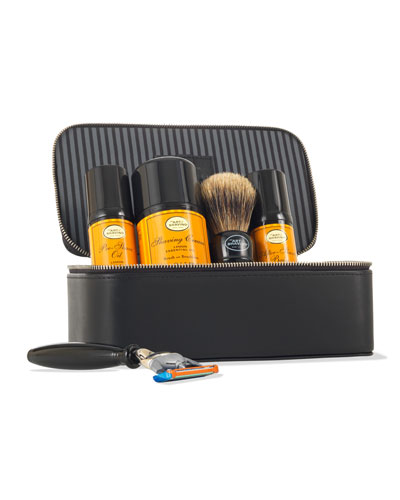 4 Elements of the Perfect Shave Travel Kit, Lemon
