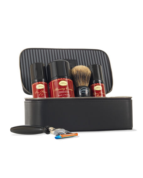 4 Elements of the Perfect Shave Travel Kit, Sandalwood