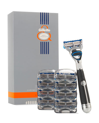 Gillette Fusion Chrome Collection Power Razor Proglide
