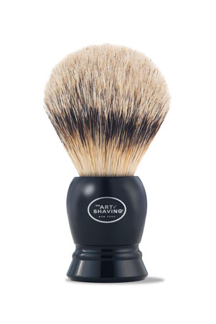 The Art of Shaving Fine Badger Hair Brush, Black
