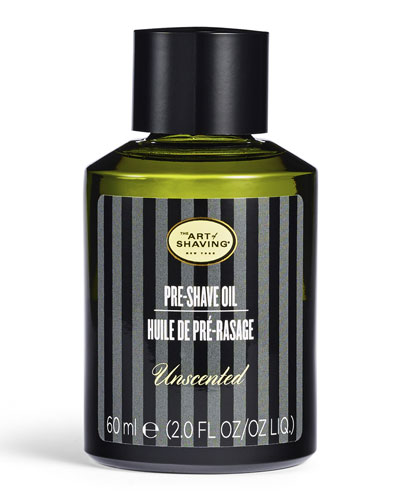 Pre-Shave Oil, Unscented