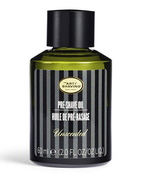 Pre-Shave Oil, Unscented