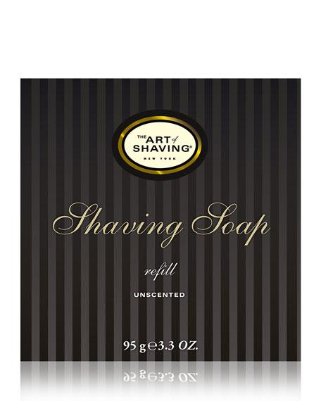 Shaving Soap Refill, Unscented