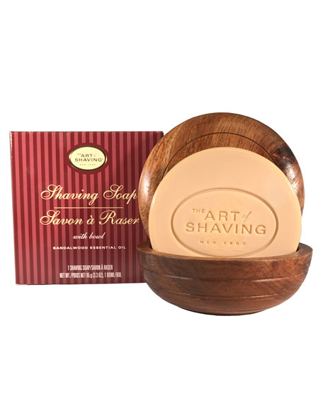 The Art of Shaving Shaving Soap with Wooden