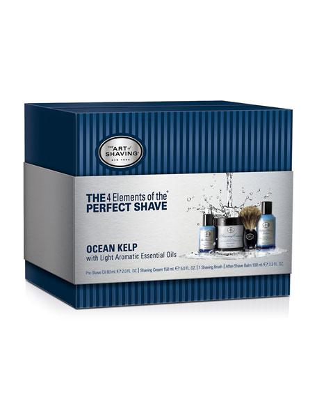 The 4 Elements of the Perfect Shave Kit, Ocean Kelp