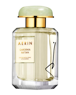 AERIN Beauty Limited Edition SIGNED Gardenia Rattan Eau De Parfum, 1.7oz