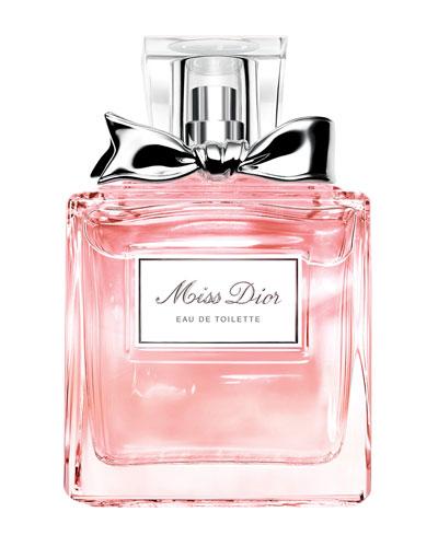 Miss Dior Eau de Toilette, 3.4 oz