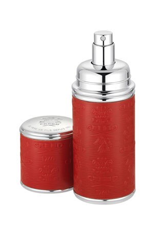 CREED 1.7 oz. Logo Etched Leather Atomizer