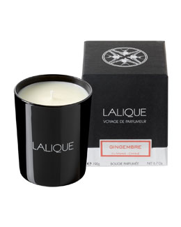 Lalique Gingembre Yunnan Scented Candle