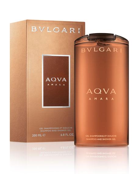 Aqva Amara Shampoo/Shower Gel, 6.8oz