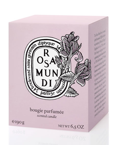 Limited Edition Valentine Rosa Mundi Scented Candle
