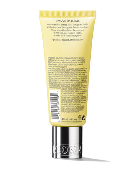 Orange & Bergamot Replenishing Hand Cream, 1.4 oz./ 40 mL
