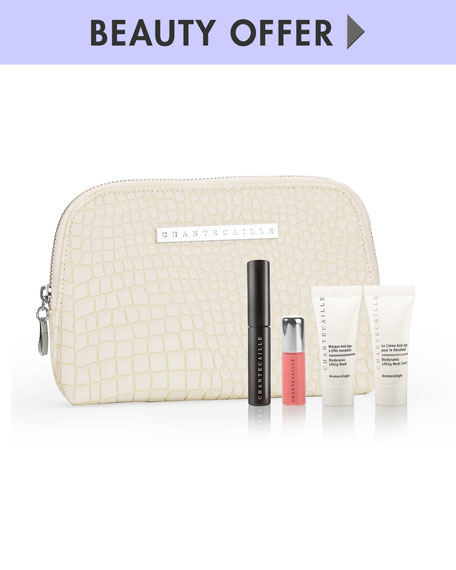 Yours with any $185 Chantecaille purchase