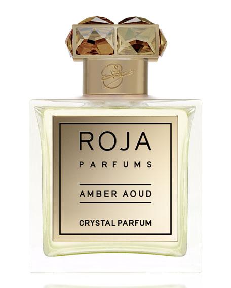 Roja Parfums Amber Aoud Crystal Parfum, 3.4 oz./