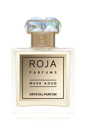Roja Parfums Musk Aoud Crystal Parfum, 3.4 oz./ 100 mL