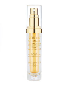 Hampton Sun Serious Shimmer Cooling Spray Bronze, 1 oz.