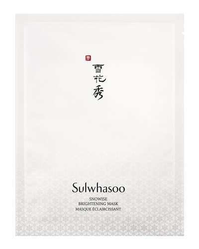 Sulwhasoo Snowise Ex Brightening Mask, 10 Sheets