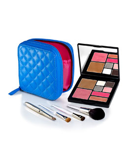 Trish McEvoy Limited Edition Delux Portable Beauty Azure Collection