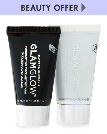 Yours with any $69 Glamglow purchase—Online only*