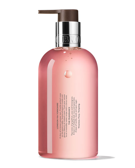 Delicious Rhubarb & Rose Hand Wash, 10 oz./ 300 mL