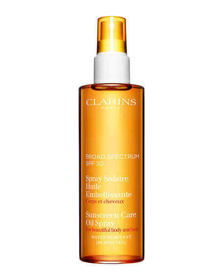 Clarins Sunscreen Care Oil Spray SPF 30, Body