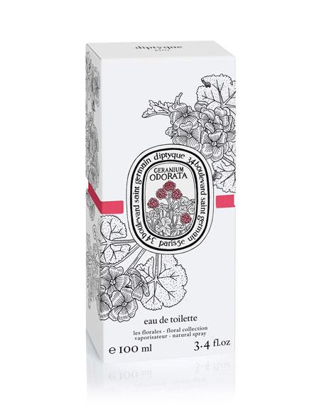 Geranium Odorata Eau de Toilette, 3.4 oz./ 100 mL