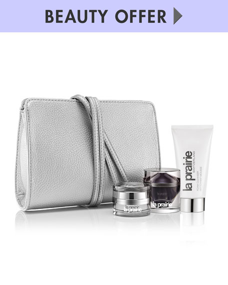 La Prairie Yours with any $400 La Prairie purchase