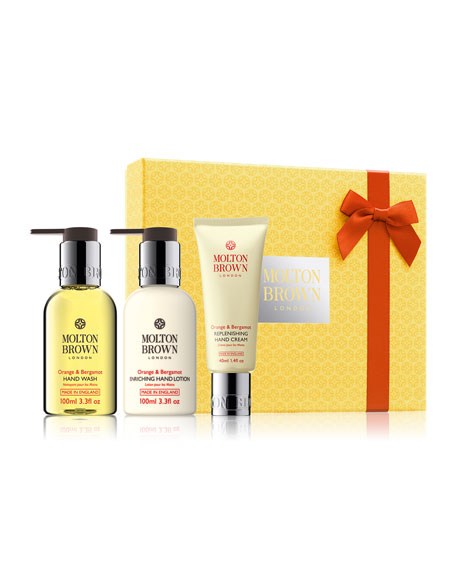 Orange & Bergamot Limited Edition Hand Care Collection