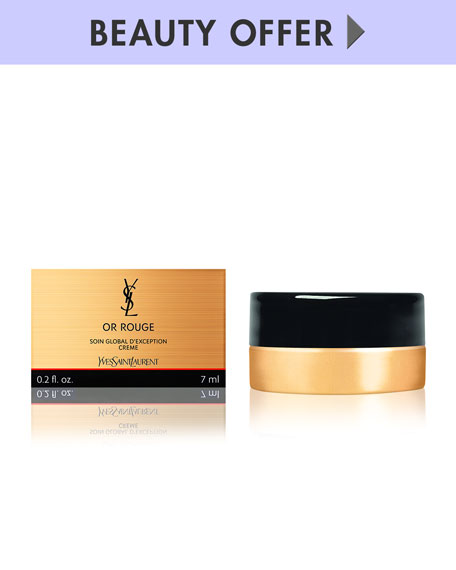 Yours with any $250 Yves Saint Laurent Beaute Purchase