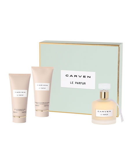 Carven Le Parfum Deluxe Gift Set, 3.3 oz. each