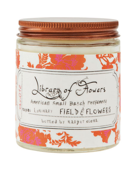 Library of FlowersField & Flowers Luminary, 5 oz.