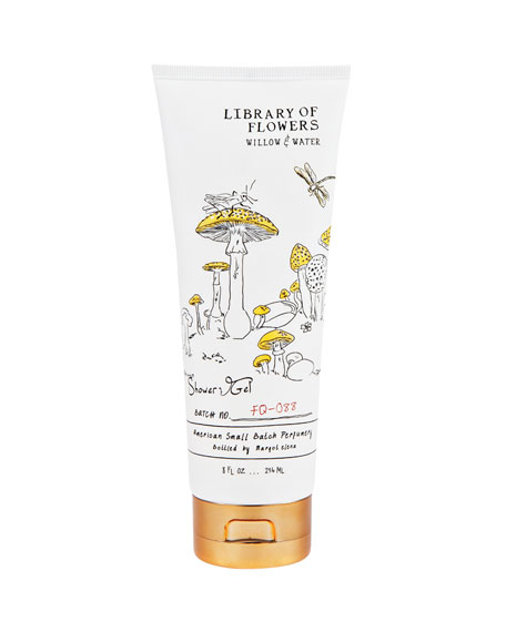 Library of Flowers Willow & Water Shower Gel,