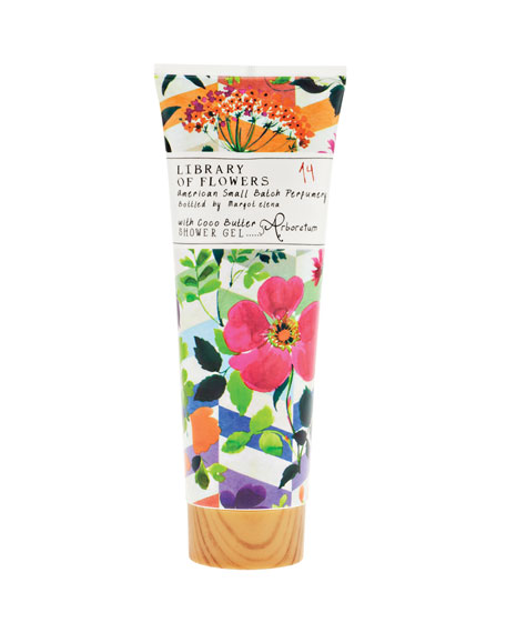 Library of Flowers Arboretum Shower Gel, 8 oz.