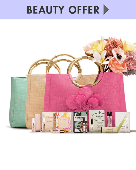 Neiman Marcus Yours with any $100 Beauty or Fragrance purchase