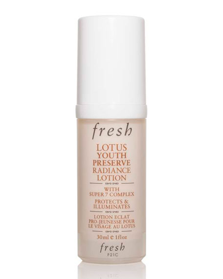 Fresh Lotus Youth Preserve Radiance Lotion with Super