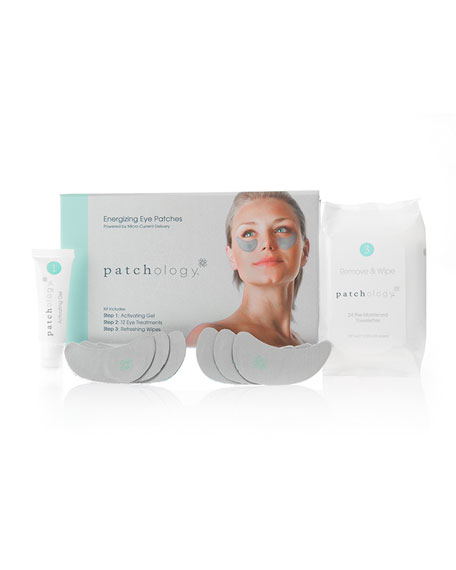 Patchology Energizing Eye Patches, 12 Treatments
